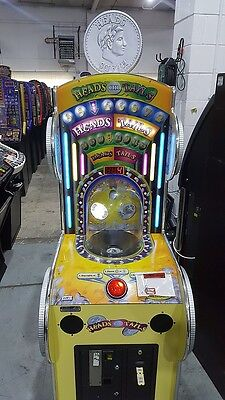 Heads Or Tails Ticket Redemption Machine / Great Piece For An Arcade
