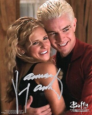 "OFFICIAL WEBSITE James Marsters ""Buffy the Vampire Slayer"" 8x10 AUTOGRAPHED"