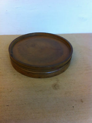 LOVELY DECORATIVE 19th CENTURY WOODEN PILL ROUNDER 4.2 inches