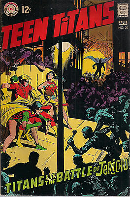 TEEN TITANS #20 (1969) DC Comics Neal Adams art FINE+