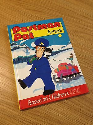 Vintage Postman Pat Annual - Comic Book - 1990  unclipped