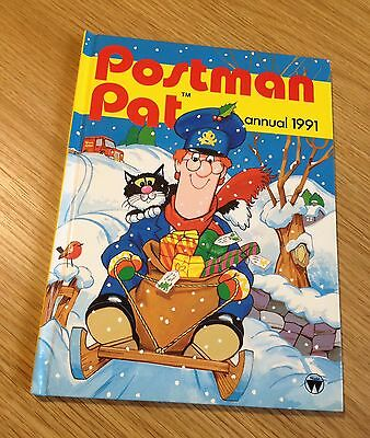 Vintage Postman Pat Annual 1991 - Comic Book - Unclipped