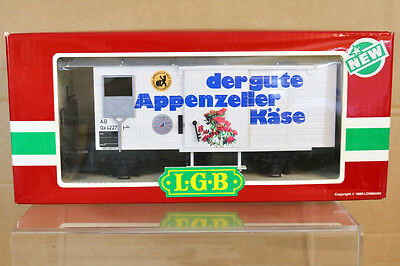 LGB 4328 G SCALE Der GUTE APPENZELLER KASE CHEESE GOODS WAGON MINT BOXED nk