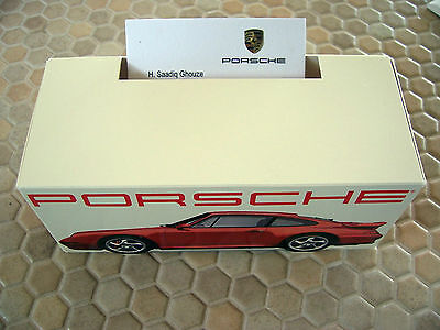 Porsche Official 993 911 Turbo Business Card Holder 1996-98 Usa Edition New