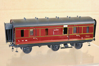 Lawrence Scale D&s Models O Gauge Kit Built Lms 6 Wheel Brake Van Coach 32946