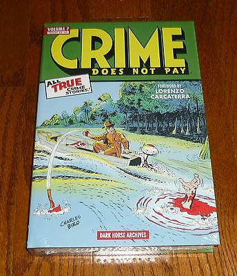 Crime Does Not Pay Archives Volume 7, SEALED, Dark Horse Comics hardcover, Biro