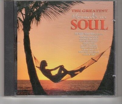(HH897) The Greatest Moments In Soul, 18 tracks various artists - 1992 CD