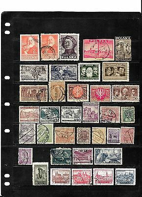 Poland.....a Good Lot....postally Used........80311