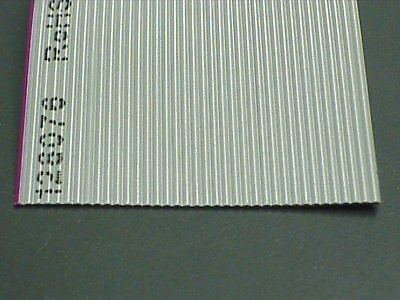 "Per Foot, 37 Conductor Ribbon Cable, 28(7x36) AWG, 0.05"" (1.27mm) Pitch Spacing"