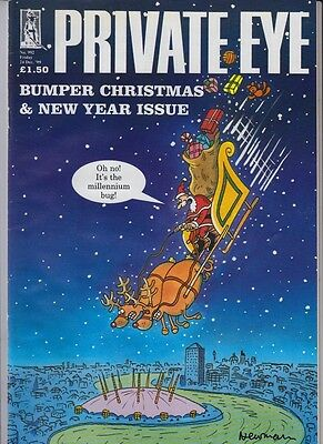 Private Eye Magazine 24 December1999 #992 Bumper Christmas & New Year Issue