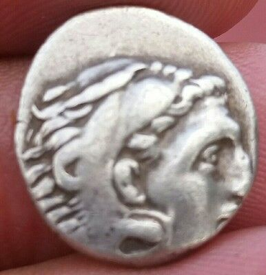 Alexander III The Great 336-323 BC .Silver Drachm 4.1 grams .Macedonian Kingdom