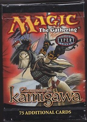 MTG 1 x CHAMPIONS of KAMIGAWA  Tournament (Starter) Deck Sealed (75 cards)