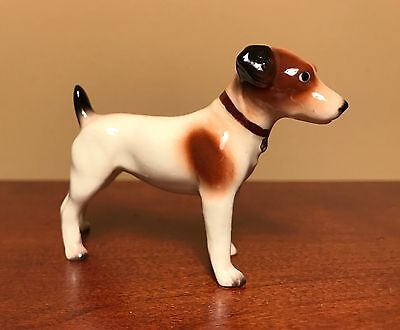 Hagen-Renaker Mini #3255 JACK RUSSELL TERRIER - Miniature Ceramic Dog Figurine
