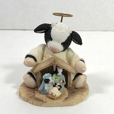 Glory to the New Born King Merry Moo Moos NATIVITY w/ cows! MINT in BOX 2007