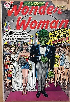 WONDER WOMAN #155 (1965) DC Comics FAIRLY GOOD