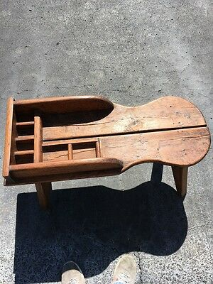 Antique Cobbler's Table Or Bench