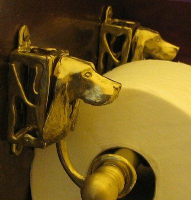 ENGLISH COCKER SPANIEL Toilet Paper Holder OR Paper Towel Holder!