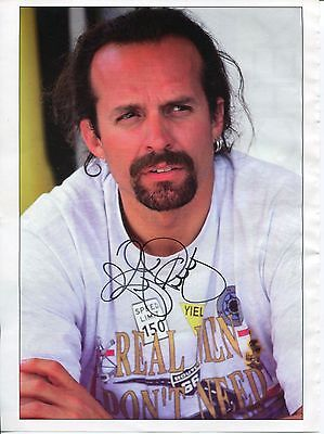 Kyle Petty NASCAR Driver Signed Autograph Photo