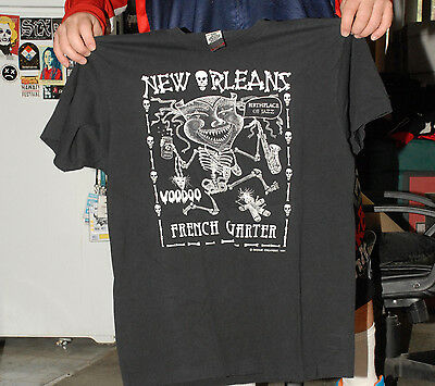 New Orleans Birthplace Of Jazz T Shirt Xl Near Mint No Cracking Raised Art