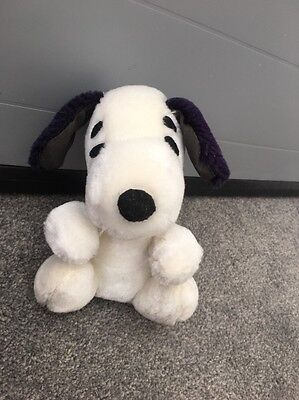 Almost 50 YEARS OLD Vintage 1968 Snoopy Peanuts Soft Toy VGC RARE & COLLECTIBLE