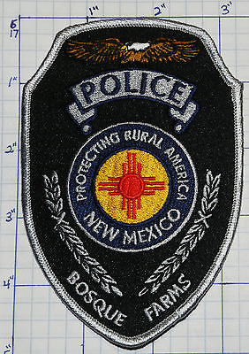 New Mexico, Bosque Farms Police Dept Black Patch