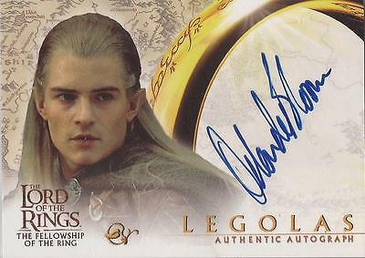 "Lord of the Rings Fellowship (& Hobbit) - Orlando Bloom ""Legolas"" Autograph Card"