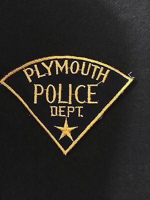 Plymouth  Michigan  Police  Shoulder Patch Old