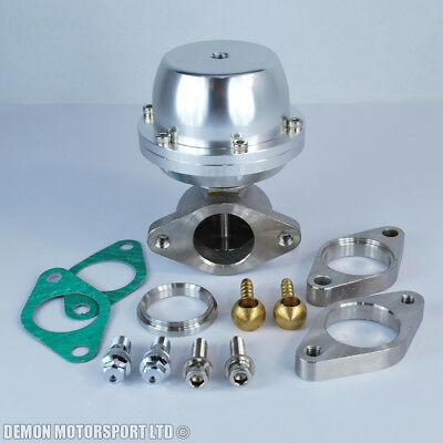 38mm External Wastegate Kit (Silver) - Demon Motorsport