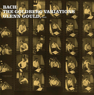Glenn Gould Bach Goldberg Variations Limited Lp Vinyl New (Us) 33Rpm