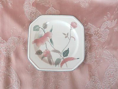 MIKASA   SILK FLOWERS  Bread and Butter  PLATE    # F 3003