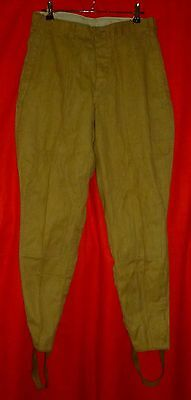 1978 New Russian Soviet Army Soldier Uniform Cotton Pants Breeches USSR 48-3 S