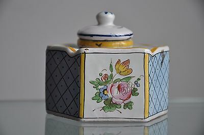 Sceaux Porcelain France  , Inkwells , Painting To Hand