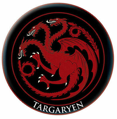 Dark Horse Game of Thrones Targaryen House Crest Embroidered Patch Cosplay