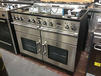 *Rangemaster EXL110EISS/C Induction 110cm Electric Range Cooker - S/Steel #11045