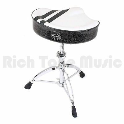 Mapex White Stripe Top M/C Throne With 755 Base