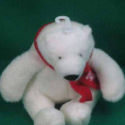 Best Play International European Community 2007 Coca-Cola Polar Bear Plush Toy