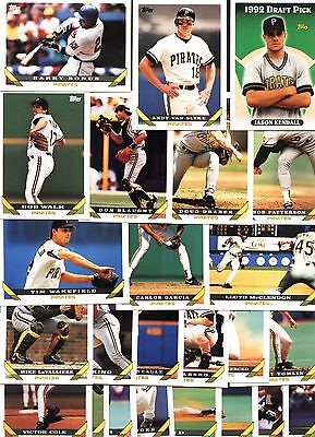 PITTSBURGH PIRATES-Select Any Complete Topps Base Set from 1990 to 2013