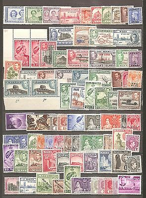 British Commonwealth Mint Selection on Old Stock Page