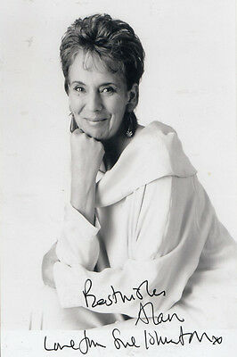 Sue Johnston Brookside Hand Signed Photo