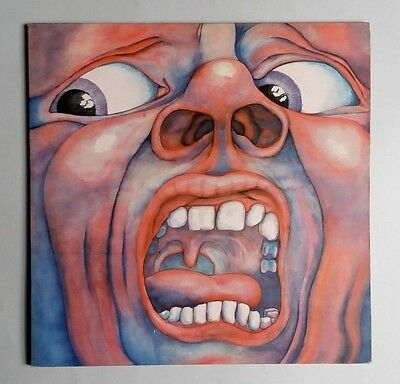 King Crimson - In The Court Of The Crimson King - Vinyl LP UK 1970