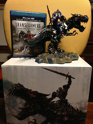 Transformers Age Of Extinction Grimlock Blu-Ray 3 D Collector