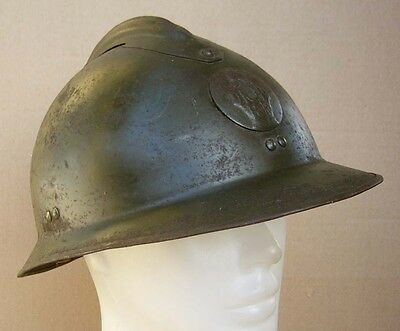 France FRENCH RF WWII COMBAT ENGINEER  M26 ADRIAN HELMET shell