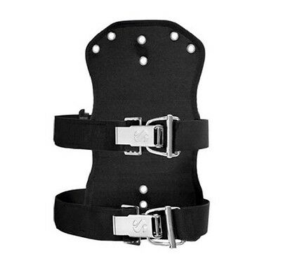 Scubapro X-TEK Soft Travel Backplate fürTEK Harness System, incl. 2 x Super Cinc