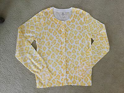Lands End Girls Sz 14 ~ Cardigan Sweater~Excellent