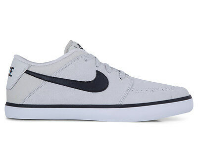 Nike Men's Suketo 2 Leather Shoe - Light Bone/Black/White