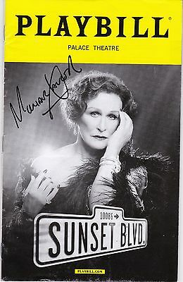"""""""Sunset Blvd."""" -  Signed Playbill - Signed by Michael Xavier"""