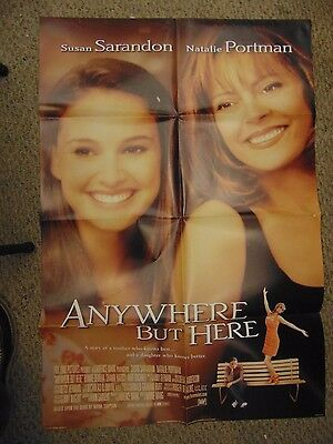 """Natalie Portman Anywhere But Here 27x41"""" One Sheet Movie Poster #M4565"""