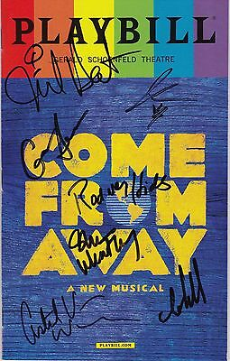 """""""Come From Away"""" -  Signed Playbill - Signed by Jenn Colella"""