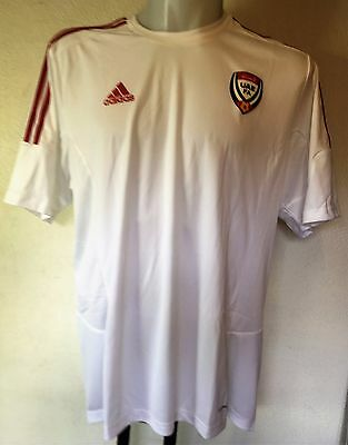 Uae United Arab Emirates S/s Home Shirt  By Adidas Size Adults Medium Brand New