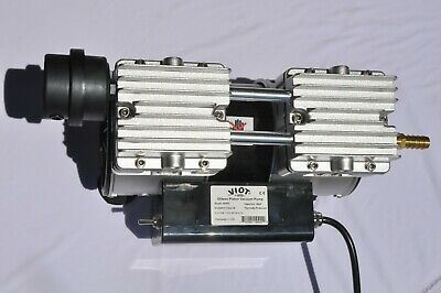 Twin Piston Oil-less oilfree Vacuum Pump 6CFM Epoxy Medic Dental Workshop Milker
